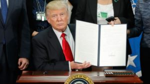 Trump Order about refugees