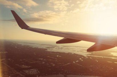 plane-sky-sunset